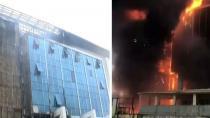 İstanbul'da huzurevinde yangın!