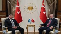 ERDOĞAN, KAZAKİSTAN BAŞBAKANI'NI KABUL ETTİ