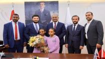 SUDAN'DAN BAŞKAN'A ZİYARET
