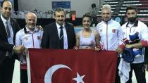 Emine Arslan, sözünü tutarak dünya şampiyonu oldu