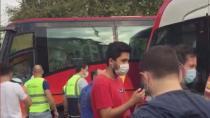 İstanbul'da feci kaza: Tramvay ve otobüs çarpıştı!