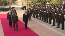 Bakan Hulisi Akar, Özbekistan'da...