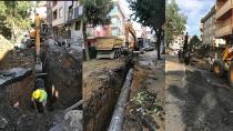 Sancaktepe'de altyapı çalışmaları sürüyor