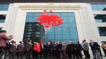 Türk bayraklı 97 balon uçuruldu