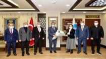 Başkan Ahmet Cin öğretmenleri ağırladı