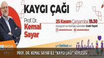 """Prof. Dr. Kemal Sayar'dan """"Kaygı Çağı"""" söyleşisi"""