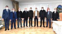 Başdanışman ve Başkanlardan Üsküdar ziyareti