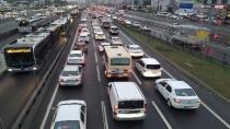 İstanbul'da trafik yoğunluğu artıyor