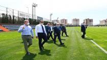 Yerlikaya'dan, Başakşehir Futbol Kulübü'nü Ziyaret