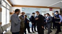 Başkan Ahmet Cin, personelle bayramlaştı